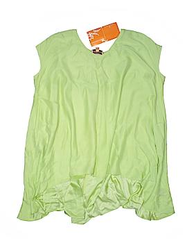 Roberta Short Sleeve Silk Top Size XS