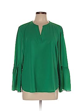 J. Crew Factory Store Long Sleeve Blouse Size XL