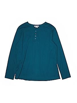 Rebecca Malone Long Sleeve Henley Size M