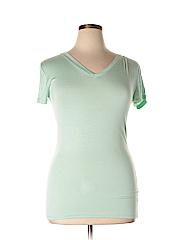 Zenana Outfitters Women Short Sleeve T-Shirt Size L