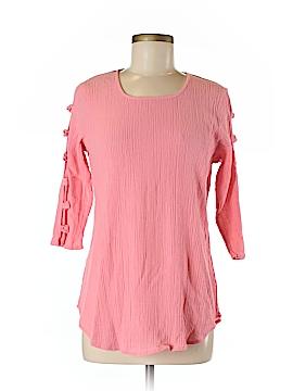 BEDFORD FAIR lifestyles 3/4 Sleeve Top Size M