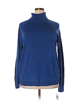 Karen Scott Turtleneck Sweater Size 2X (Plus)