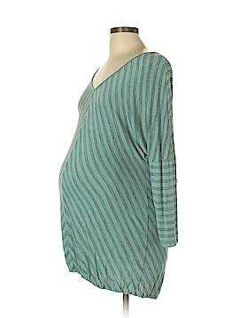Liz Lange Maternity for Target 3/4 Sleeve Top Size L (Maternity)