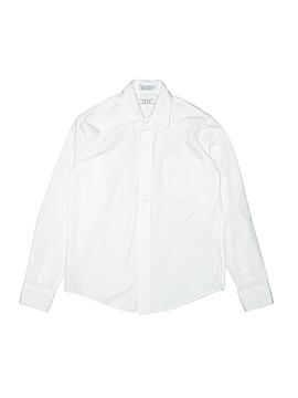 IZOD Long Sleeve Button-Down Shirt Size 12