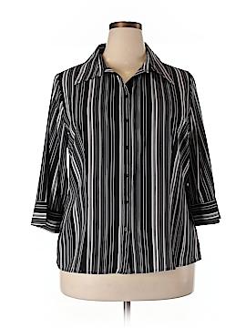 Apt. 9 3/4 Sleeve Blouse Size 1X (Plus)