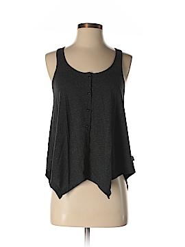 Vans Sleeveless Button-Down Shirt Size S
