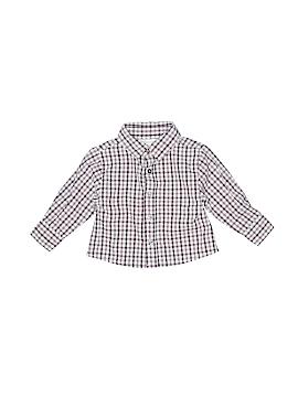 Strasburg Long Sleeve Button-Down Shirt Size 12 mo