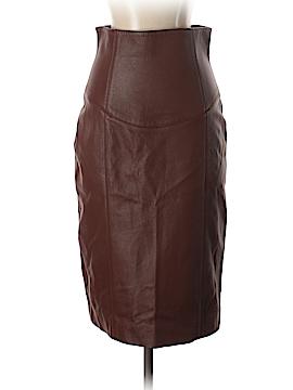 Giuliana Teso Leather Skirt Size 40 (IT)