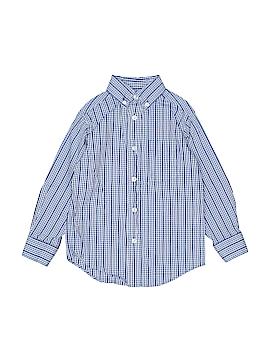 Class Club Long Sleeve Button-Down Shirt Size 4T