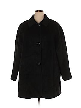 Jones New York Wool Coat Size 3X (Plus)