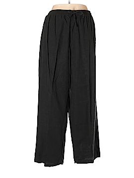 Woman Within Linen Pants Size 24 (Plus)