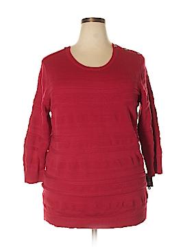 Karen Kane Pullover Sweater Size 2X (Plus)
