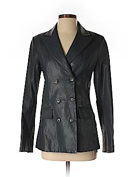 Thakoon Addition Leather Jacket Size 4
