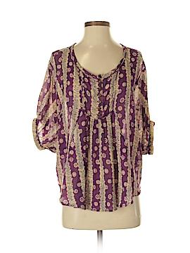Patterson J. Kincaid 3/4 Sleeve Blouse Size S