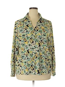 Avenue Long Sleeve Blouse Size 22 - 24 Plus (Plus)