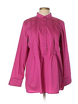 D&Co. Long Sleeve Blouse Size L