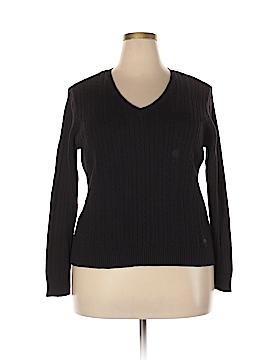 IZOD Pullover Sweater Size 1X (Plus)