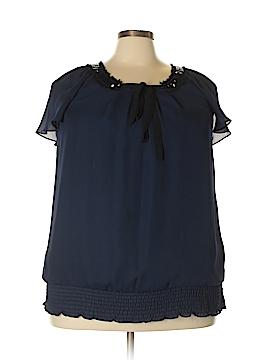 Lane Bryant Short Sleeve Blouse Size 18/20 Plus (Plus)
