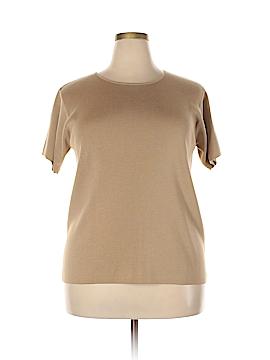 Linda Allard Ellen Tracy Wool Pullover Sweater Size 1X (Plus)