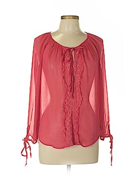 Kelly Renee Long Sleeve Blouse Size L