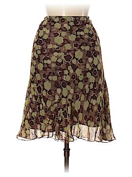 Allison Taylor Silk Skirt Size S