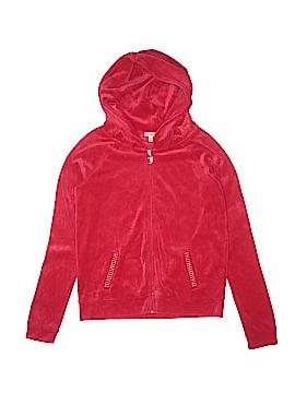 Juicy Couture Zip Up Hoodie Size X-Large (Kids)
