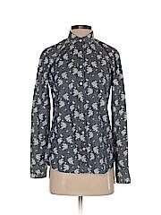 J. Crew Factory Store Women Long Sleeve Button-Down Shirt Size XS