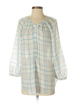 Joie a La Plage Long Sleeve Button-Down Shirt Size S