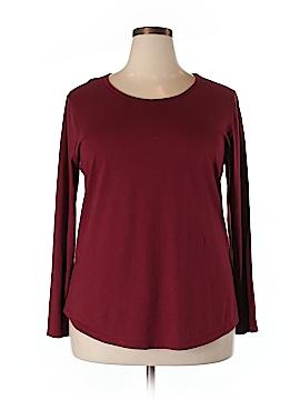 DressBarn Long Sleeve T-Shirt Size 2X (Plus)