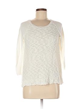 Yellow Bird Pullover Sweater Size M