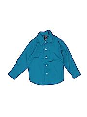 Arrow Boys Long Sleeve Button-Down Shirt Size 4