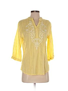Rebecca Malone 3/4 Sleeve Blouse Size S