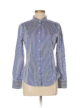 Zara Basic Long Sleeve Button-Down Shirt Size L