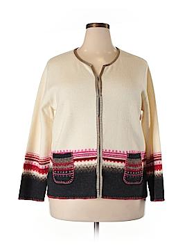 Sigrid Olsen Sport Wool Cardigan Size 1X (Plus)