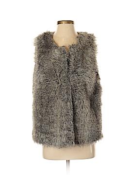 Alberto Makali Faux Fur Vest Size M