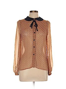 Glamorous Long Sleeve Blouse Size 10