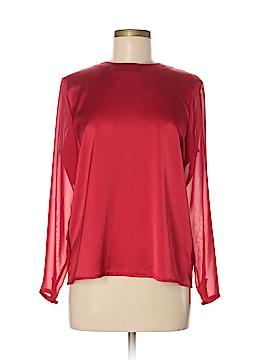Liz Claiborne Long Sleeve Blouse Size 8 (Petite)