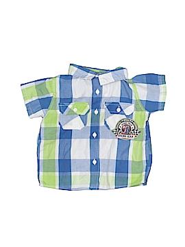 Little Rebels Short Sleeve Button-Down Shirt Size 18 mo