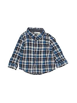 Genuine Kids from Oshkosh Long Sleeve Button-Down Shirt Size 6-9 mo