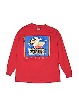 Gildan Long Sleeve T-Shirt Size L (Youth)