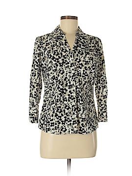 Alfani 3/4 Sleeve Button-Down Shirt Size 8