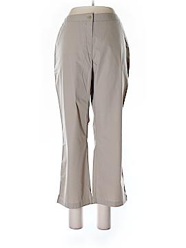Garnet Hill Khakis Size 12