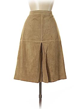 Ann Taylor LOFT Leather Skirt Size 8