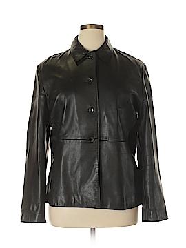Banana Republic Leather Jacket Size XL