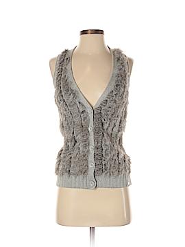 Armani Exchange Faux Fur Vest Size S
