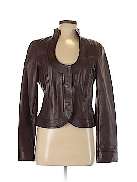 Cache Leather Jacket Size 8