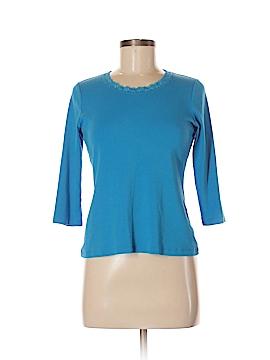 Laura Ashley 3/4 Sleeve T-Shirt Size S (Petite)