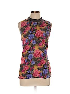 Liz Claiborne Sleeveless Silk Top Size XL