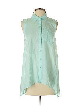 Elliott Lauren Sleeveless Button-Down Shirt Size 2