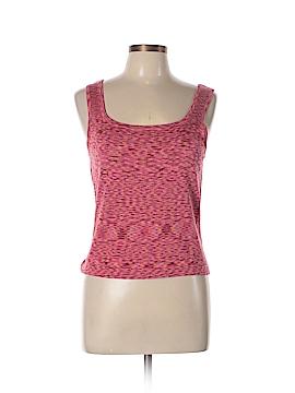 Carole Little Sleeveless Silk Top Size L